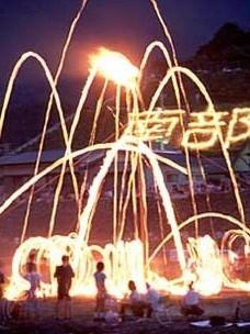 8月15日は「なんぶの火祭り」!ホテルから電車で25分!